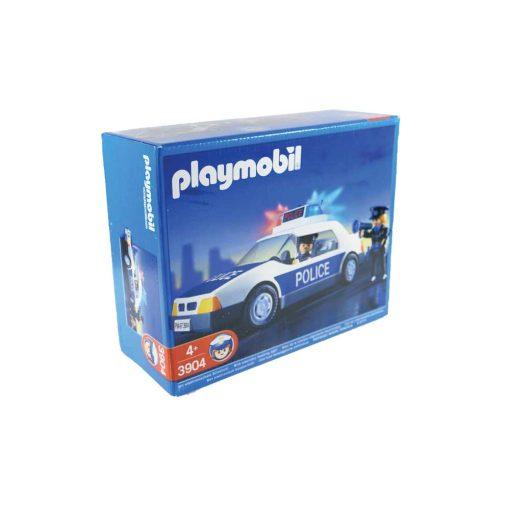 vintage Playmobil politibil 3904 æske