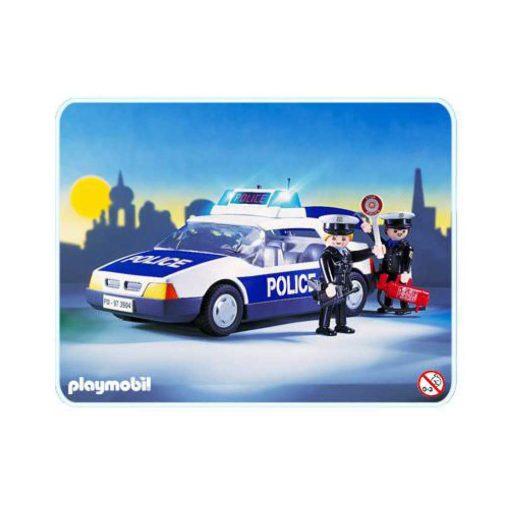 vintage Playmobil politibil 3904 billede
