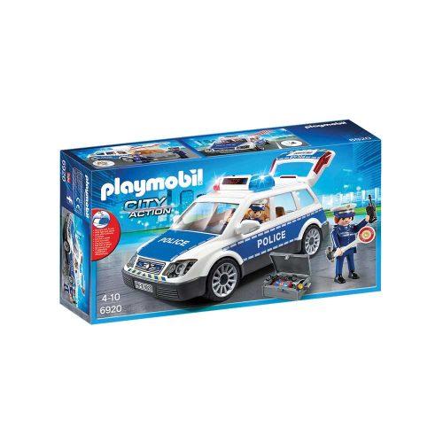 Playmobil politibil 6920 æske