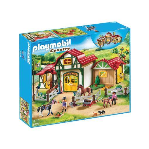Playmobil ridecenter 6926 æske