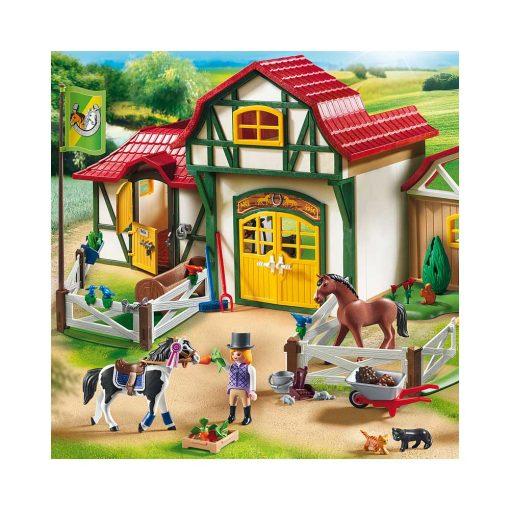 Playmobil ridecenter 6926 heste og bygning