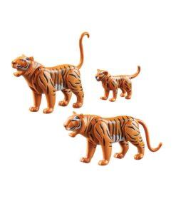 Playmobil tiger og tigerunge 70359 indhold
