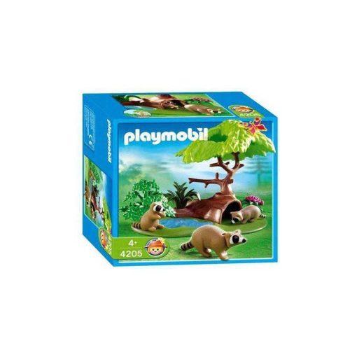 Playmobil vaskebjørne 4205 æske