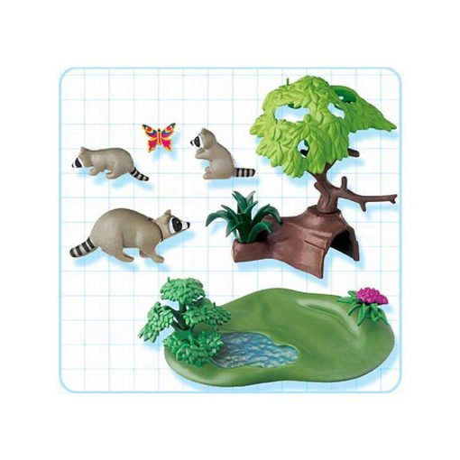 Playmobil vaskebjørne 4205 indhold