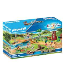 Playmobil zoo med kæledyr 70342 æske