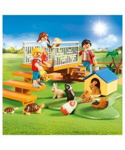 Playmobil zoo med kæledyr 70342 kæledyr
