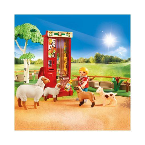 Playmobil zoo med kæledyr 70342 foderautomat