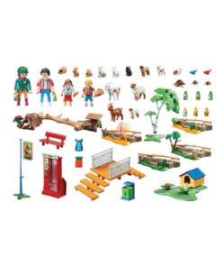 Playmobil zoo med kæledyr 70342 indhold