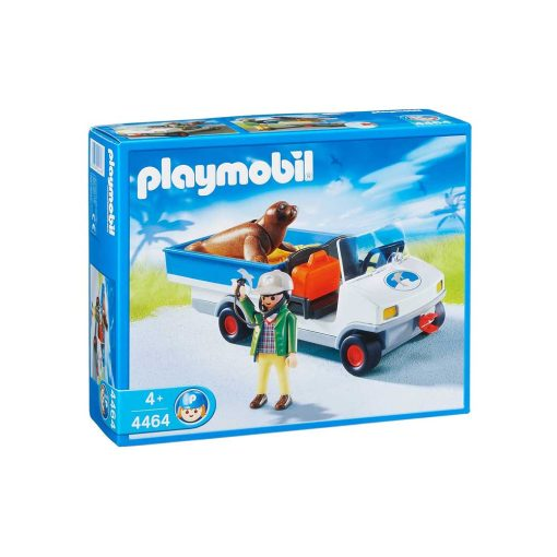 Playmobil zoo dyretransport 4464 æske