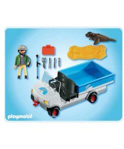 Playmobil zoo dyretransport 4464 indhold