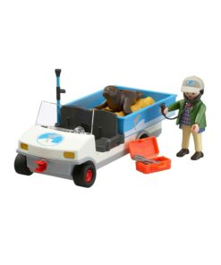 Se Playmobil zoo dyretransport 4464 caddy