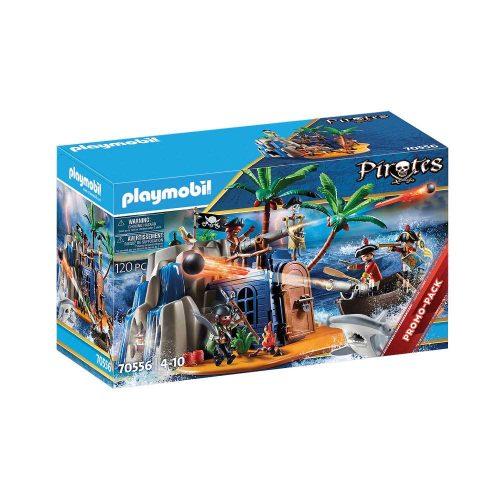 Playmobil skatteø 70556 æske