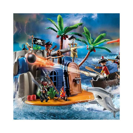 Playmobil skatteø 70556 pirater