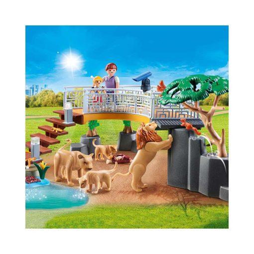 Playmobil løver i indhegning 70343 udsigtspost