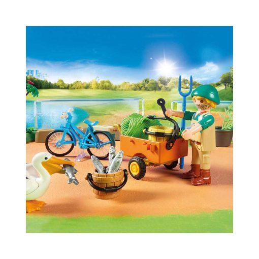 Playmobil Zoologisk have 70341 dyrepasser