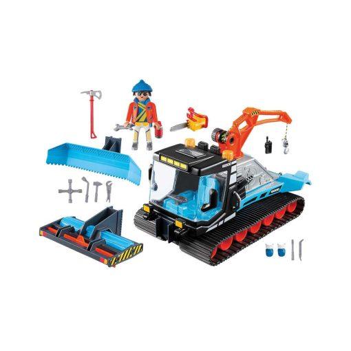 Playmobil sneplov 9500 indhold
