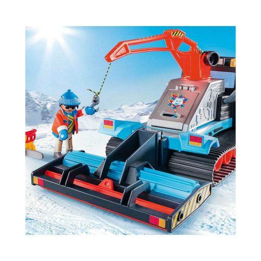 Playmobil sneplov med kran 9500