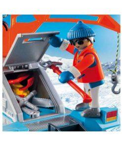Playmobil sneplov med værktøj 9500