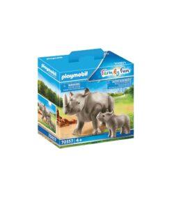 Playmobil Næsehorn med kalv 70356