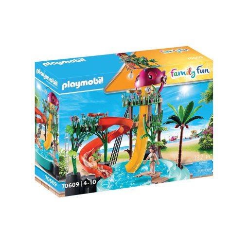 Playmobil badeland med rutsjebane 70609