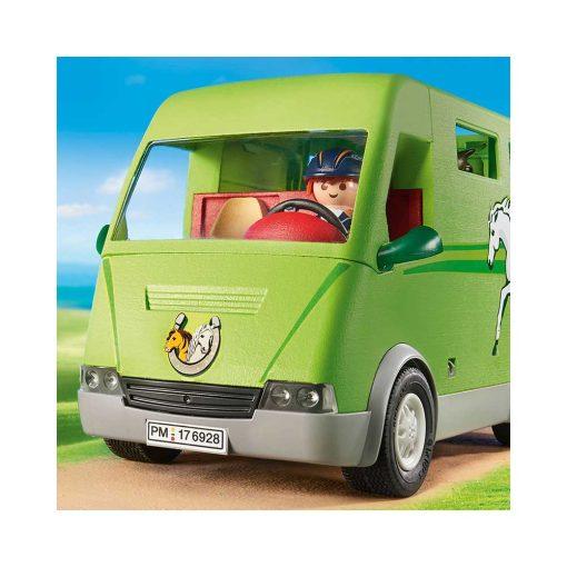 Playmobil hestetransport 6928 forfra