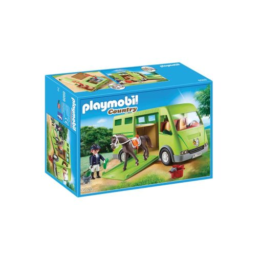 Playmobil hestetransport 6928 kasse