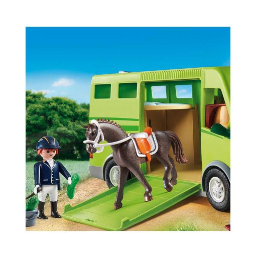 Playmobil hestetransport 6928 rytter