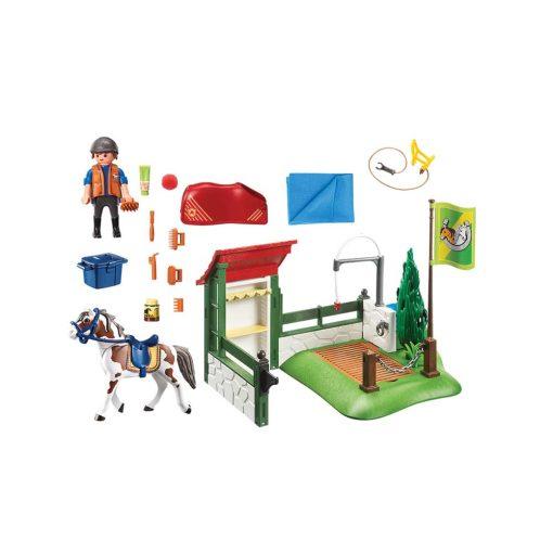 Playmobil hestevask 6629 indhold
