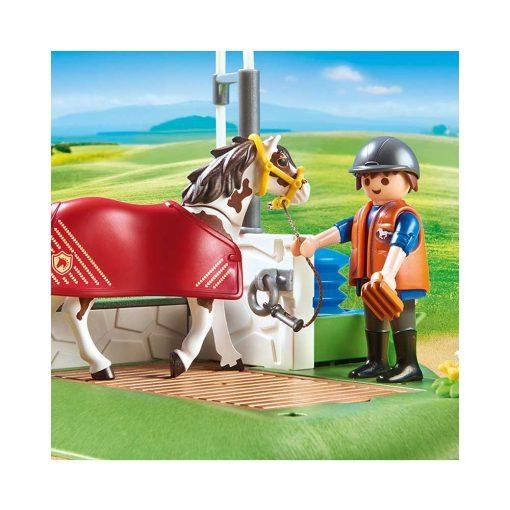Playmobil hestevask 6629 hest og rytter