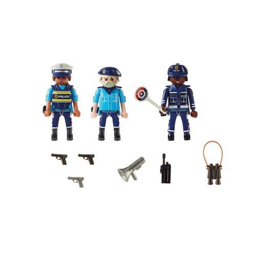 Playmobil politifigurer 70669 indhold