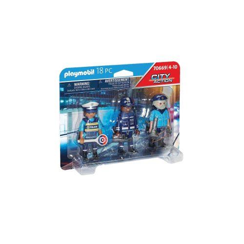 Playmobil politifigurer 70669 kasse