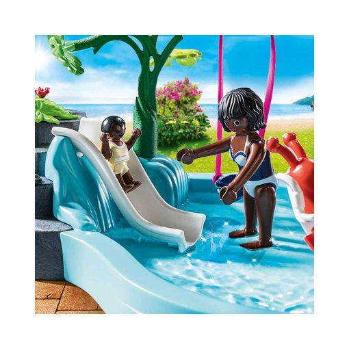 Playmobil børnebassin med boblebad 70611 vandrutsjebane