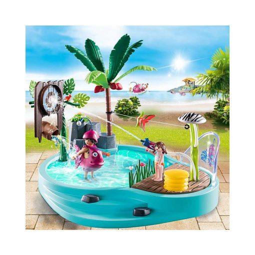 Playmobil pool med vandpistol 70610 pool