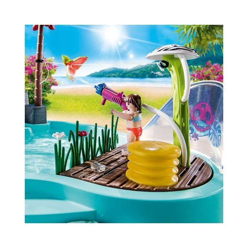 Playmobil pool med vandpistol 70610 vandpistol