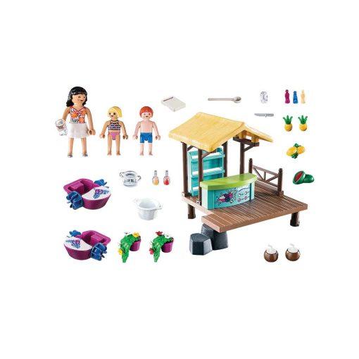 Playmobil robådsudlejning og saftbar 70612 indhold
