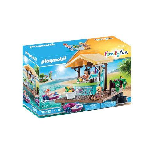 Playmobil robådsudlejning og saftbar 70612 kasse