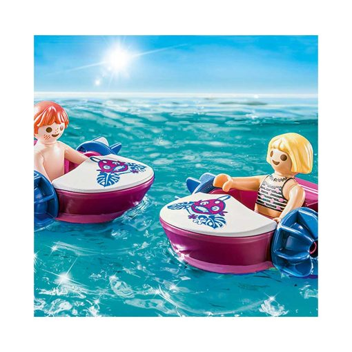 Playmobil robådsudlejning og saftbar 70612 robåde