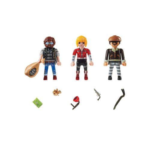 Playmobil tyve og røvere 70670 indhold