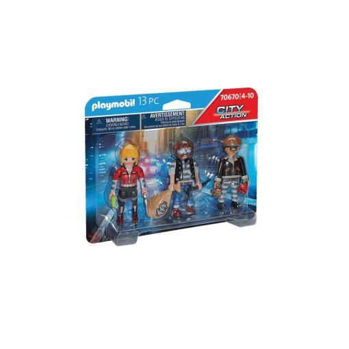 Playmobil tyve og røvere 70670 kasse
