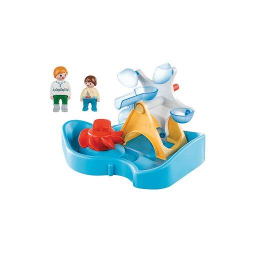 Playmobil vandhjul med karussel 70268 indhold