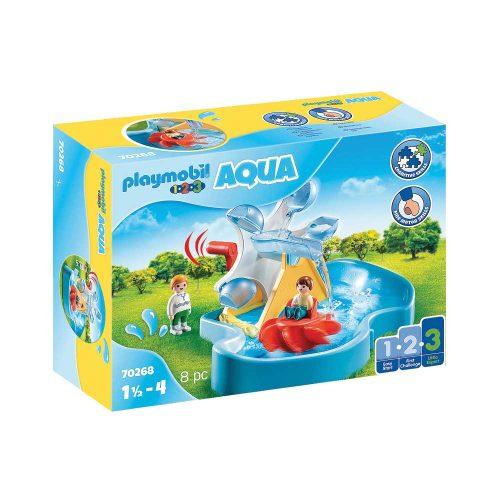 Playmobil vandmølle med karrusel 70268 kasse