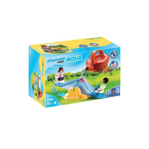 Playmobil vandvippe med vandkande 70269 kasse