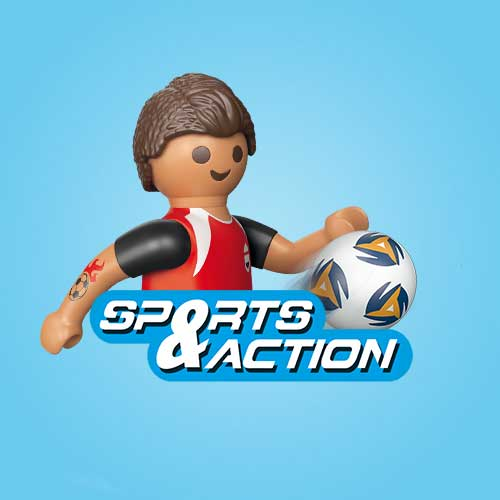 Playmobil sport and action