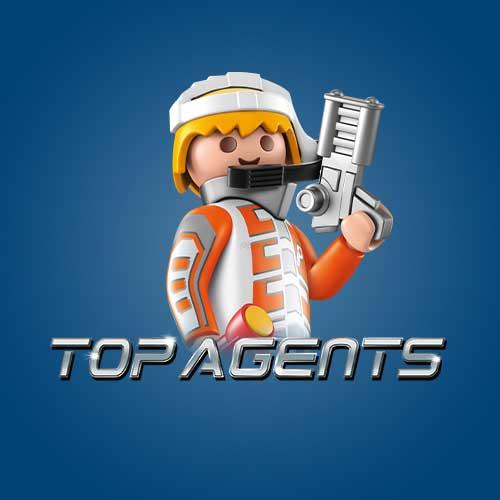 Playmobil top agent legetøj