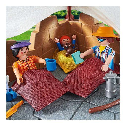 Playmobil familie på campingtur 70743 soveposer