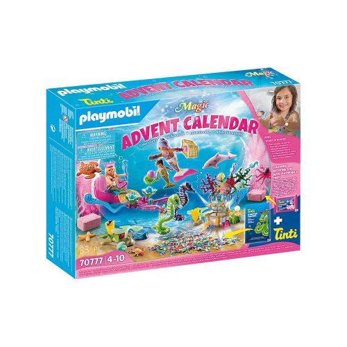Playmobil julekalenedr 70777 badesjov med havfruerne 70777 kasse