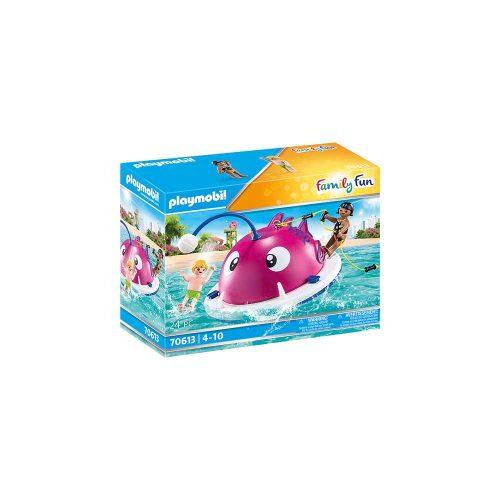 Playmobil klatre svømmeø 70613 kasse