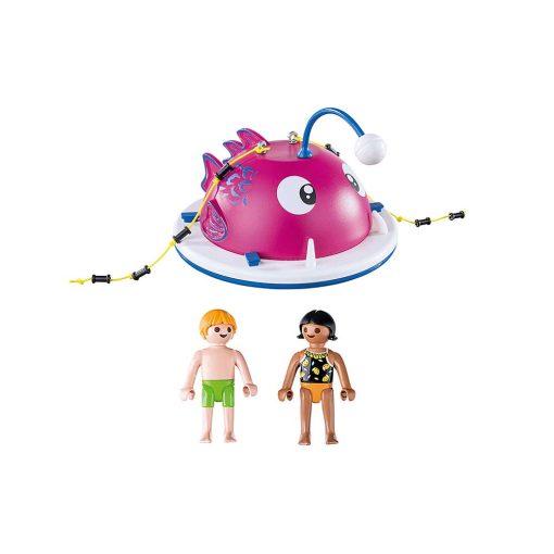 Playmobil klatre svømmeø 70613 indhold