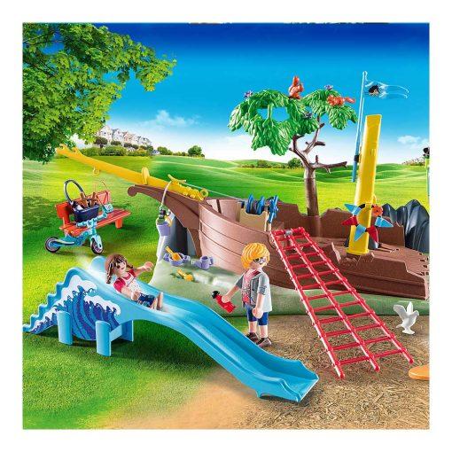 Playmobil legeplads med skibsvrag 70741 rutsjebane